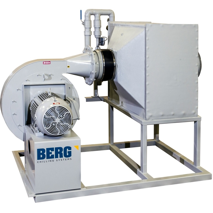 Process Cooling & Blown Film Coolers | Berg Chilling Systems