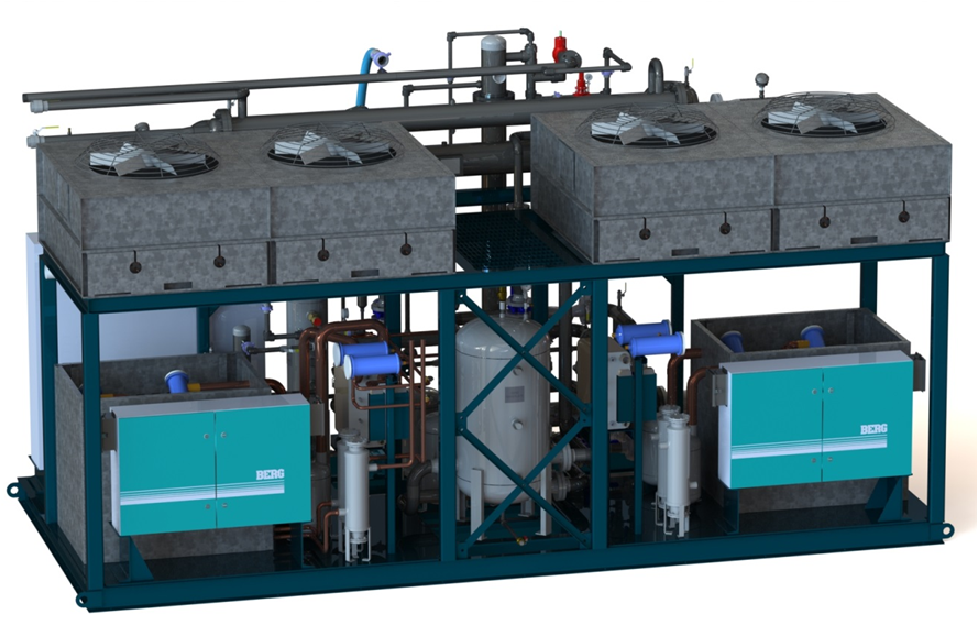 Modular Skid Based Industrial Chilling Systems | Berg