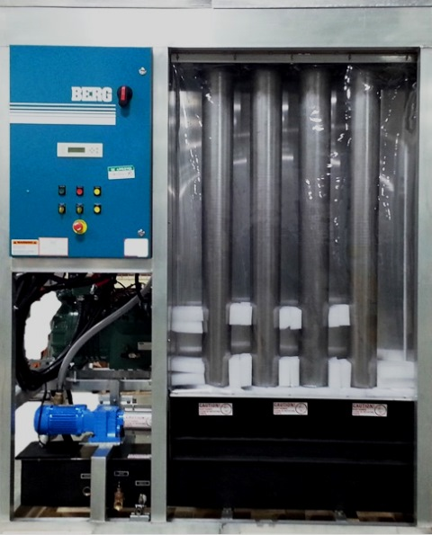 Industrial shell Ice Maker in 5 ton configuration