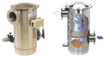 Process Water Centrifugal Fine Particle Filter