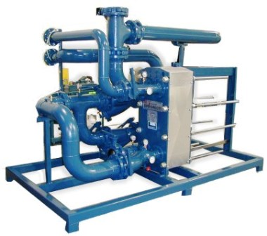 Skid Mounted Process Plate Heat Exchanger Package