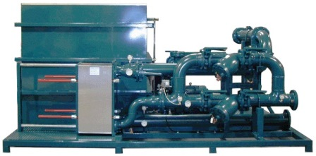 Heat Exchanger Package with storage tank