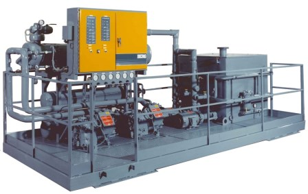 Indoor Air Cooled Chiller for process heat reclaim