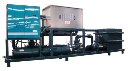 Skid mounted Indoor Air Cooled Package with Sound dampening for quiet operation