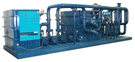Industrial Clean Water Pumping System