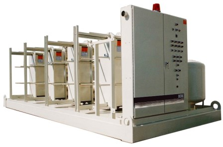 Multiple Plate Heat Exchanger Skid
