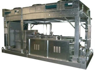Outdoor Skid Mounted Air Cooled Chiller