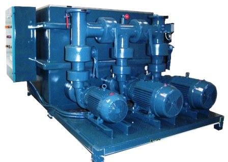 Process Chiller Pump Tank System with Standby Pump