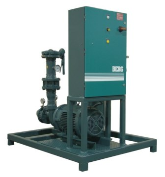 Single Pump Unit with control panel