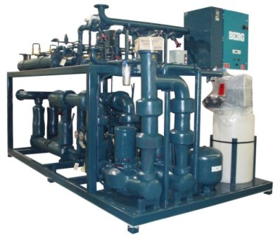 Skid Mounted Water Cooled Refrigeration Package