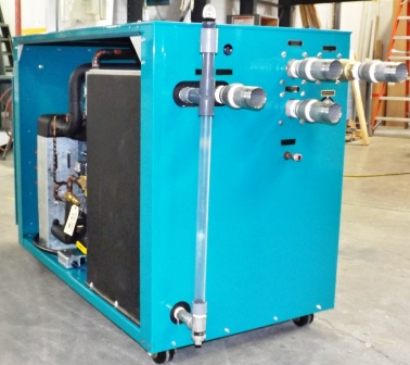 Industrial Water Cooled Portable Chiller Berg Chilling
