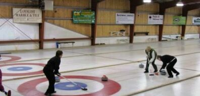 Curling rink made with a Berg Chilling System