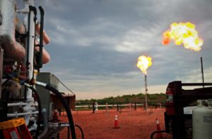 GTUIT System operating in Bakken Oil Fields cleans flare gas and reduces VOCs