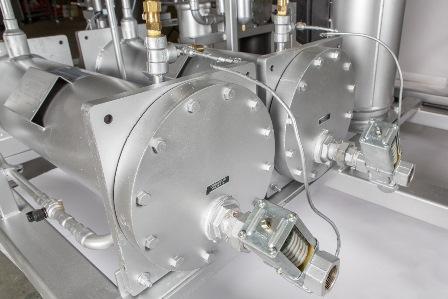 Water regulator for Berg industrial dehumidifier