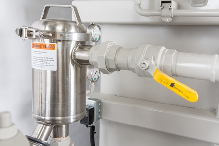 Fine Particle Strainer with Auto-Flush for Process Water System