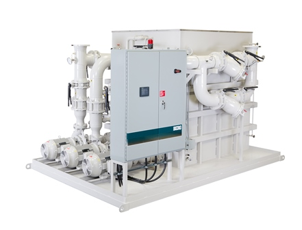 Process Water Tower Pump Tank System