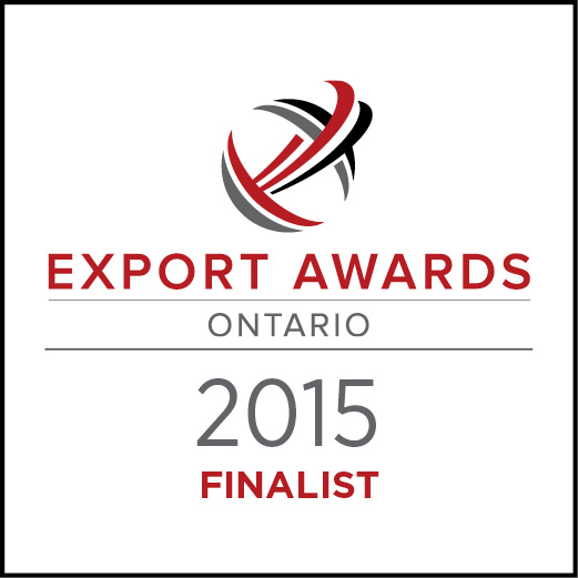 Berg was an Ontario Export Awards in 2015