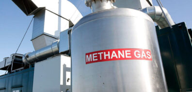 methane gas tank; methane gas capture; wellhead gas capture