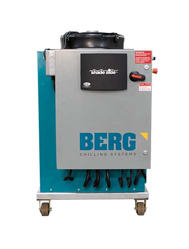 Berg Chilling Systems ammonia recovery unit system
