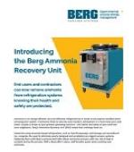 Ammonia Recovery Unit Spec Sheet
