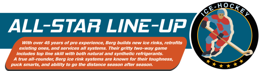 Berg Hockey and Recreational Ice Experience List