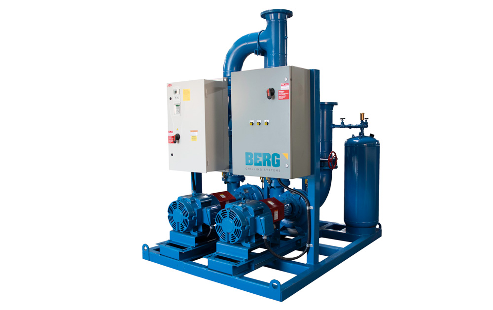 Ice Rink Chiller Pump Skid