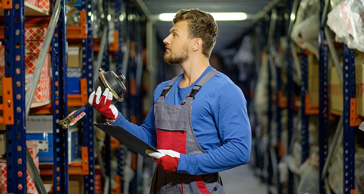 Stocking spare refrigeration parts