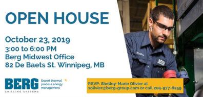 Digital Invitation Winnipeg Open House