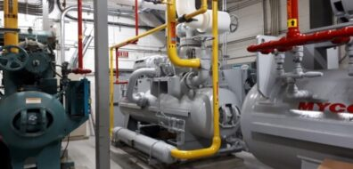 Global Egg Corporation Ammonia Chiller