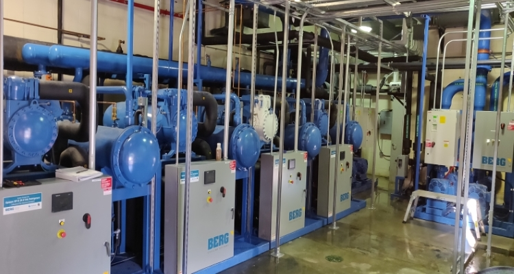 Indiana Fishers Arena Chiller System