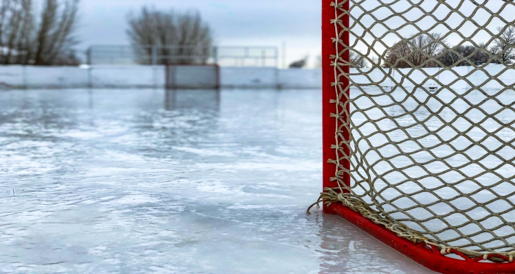 Outdoor Hockey Ice Rink