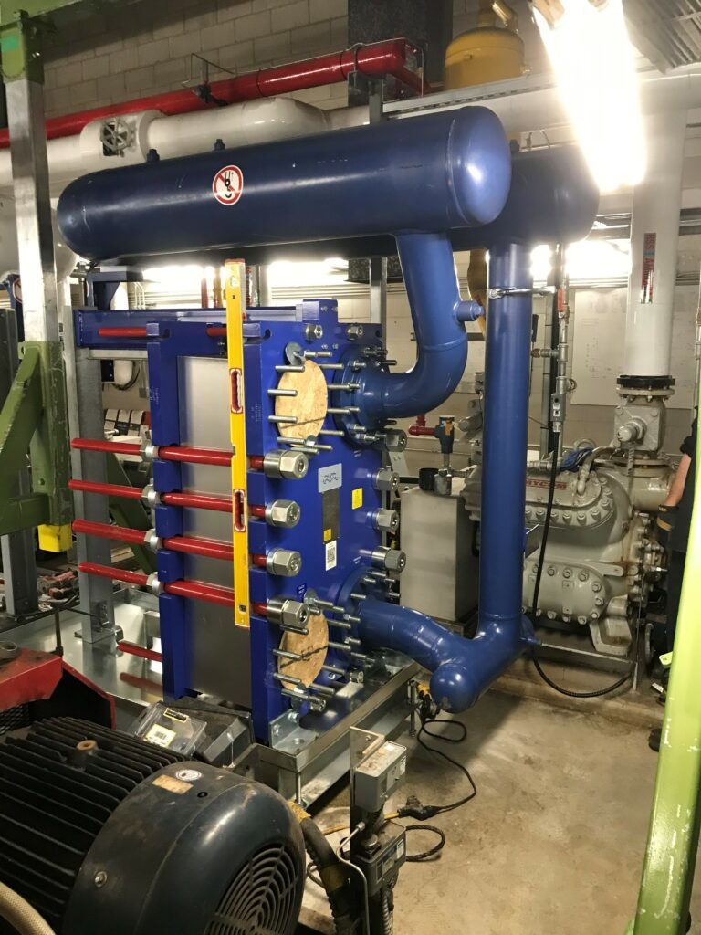 Ammonia Chiller for Meadowvale Arena